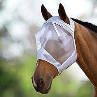 Harrison Howard CareMaster Máscara Anti-moscas Protección Plata (S; Pony)