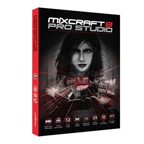 Acoustica Mixcraft Pro Studio 8 - Mehrspur-Aufnahme-Software -