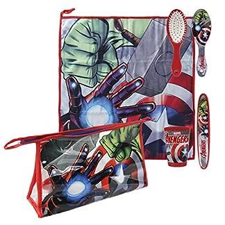 Avengers – Set neceser higiene comedor escuela (Artesania Cerda 2500000686)