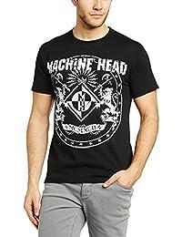 Machine Head Classic Crest - Camiseta con manga corta para hombre