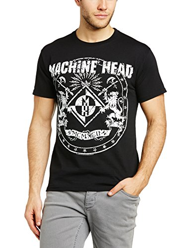 Machine Head - T-shirt, Uomo, Nero (Black), 2XL