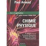 Chimie physique : Cours et exercices corrigés