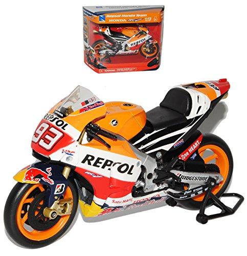 Preisvergleich Produktbild Honda Repsol RC213V Nr 93 Marc Marquez 2015 er Version Weltmeister 2013 2014 MotoGP 1/12 New Ray Modell Motorrad Modell Auto