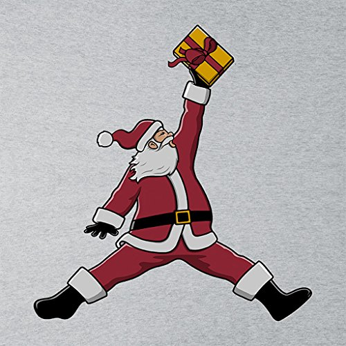 Christmas Air Santa Womens Vest Heather Grey
