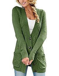 size 40 80206 74a43 Amazon.it: Verde - Cardigan / Maglioni, Cardigan & Felpe ...