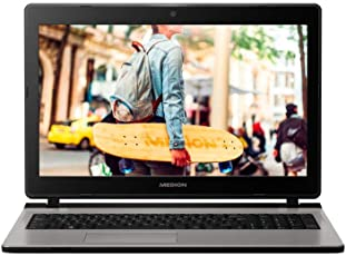 MEDION E6435 29,5 cm (15,6 Zoll HD) Notebook (Intel Pentium 4415U, 8GB DDR4 RAM, 1,5TB HDD, Intel HD Grafik, DVD, Win 10 Home)