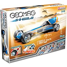 Geomag 706 - Wheels B mit Rampe, 23-teilig