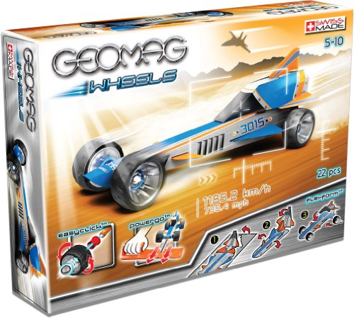 Preisvergleich Produktbild Geomag 706 - Wheels B mit Rampe, 23-teilig