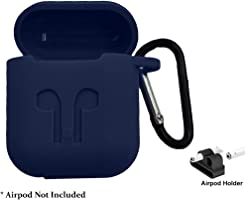 Brain Freezer Silicone Shock Proof Protection Sleeve Skin Carrying Bag Box Cover Case Compatible with AirPods Wireless...