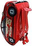 Kid's Mesh Car Shape Bag (Red, 16 Inch)