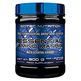 Scitec Nutrition Essential Amino Matrix, 300 grammi, Limone Rosa
