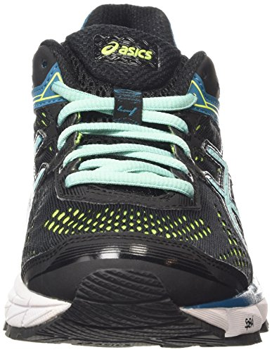 Asics black Gt 1000 Schwarz Blue flash Laufschuhe Yellow 4 9039 pool Damen OrOqa