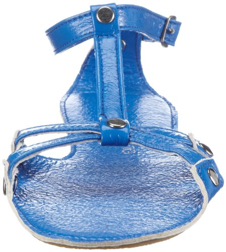 Lise Lindvig FIA 008 005 92 Damen Römersandalen Blau (Aqua blue 92)
