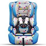 Sillas de coche Coche asiento de seguridad para niños / bebé asiento portátil de coche de bebé / 9 meses-12 años de edad 0-4 años niño silla Bebé Sillas de Coche ( Color : A , Tamaño : 45*43*67cm )