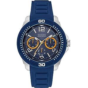 Guess W0967G2 Reloj para hombre con pulsera de silicona