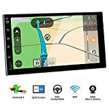 Latest Android 9.0 Quad Core 7 Inch HD 1024*600 Touchscreen Universal Car Radio Navigation Stereo Entertainment Multimedia FM/AM/RDS Radio/GPS/WIFI/Bluetooth/Mirror Link(No DVD Player!)