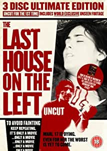 Last House On The Left - 3 Disc Ultimate Edition (Uncut) [1972] [DVD]