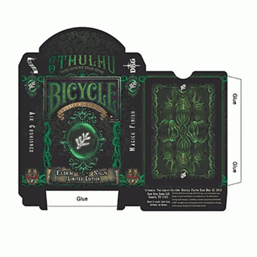 SOLOMAGIA Bicycle Elder Sign Limited Edition Playing Cards - Tours et Magie Magique