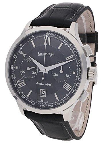 Eberhard & Co–Reloj de pulsera hombre extra grande–Fort de cintura Fecha Cronógrafo analógico automático 31953.6CP