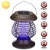 GRAFTS - Piège à Insectes électronique Portable à énergie Solaire - Lampe UV LED...