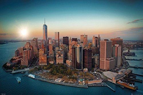 Empireposter - New York - Freedom Tower Manhattan - Größe (cm), ca....