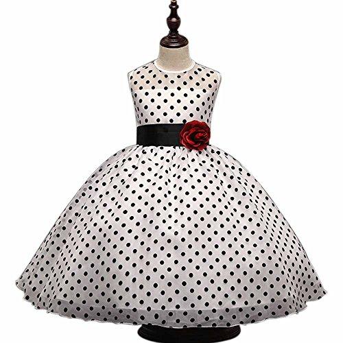 Halloween Karneval Mädchen Kleider Polka Dots Bedruckte Tüll Tutu Kleid BIGTREE