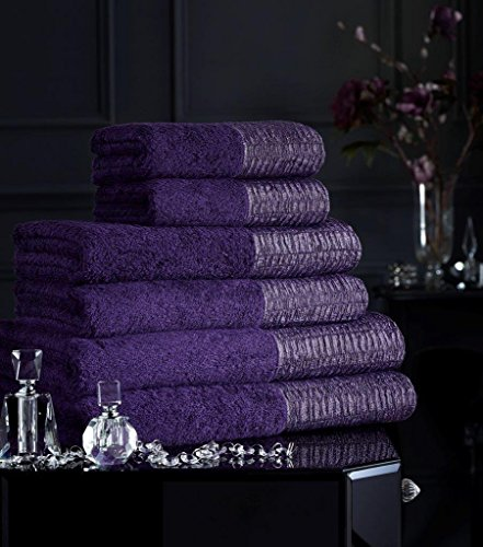 luxury-100-egyptian-cotton-500-gms-towel-lavish-laurex-pack-of-2-purple-bath-sheet