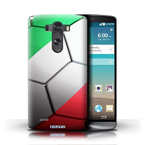 Kobalt® Imprimé Etui / Coque pour LG G3/D850/D855 / Espagne/Espagnol conception / Série Nations de Football Italie/Italien