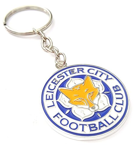 Official Leicester City F C  Keyring Football Club Keyring