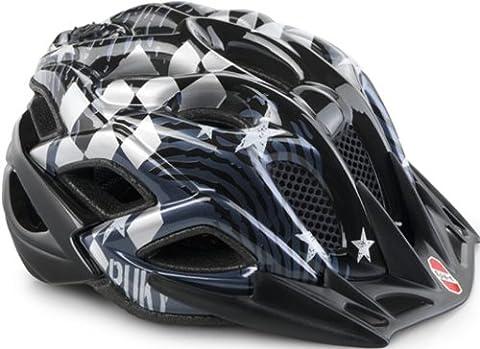 Puky PH 5 Kinder Fahrrad Helm (52-59cm) Crusader/schwarz (Puky Crusader)