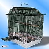 Jaula-de-Pjaros-negro-tazmin-periquito-Islas-Canarias-Parrotlets-pjaros