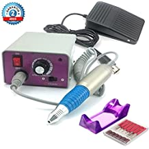Torno Profesional para Manicura y Pedicura de 30.000 RPM con 6 fresas Nails System Creative Sina MM 25000