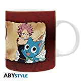 ABYstyle Suicide Squad Tazza Media Fairy Tail di Natsu Lucy & Happy per Adulti, ABYMUG227