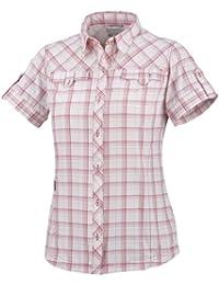Columbia Camisa para mujer, tamaño XS, color morado