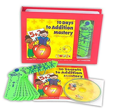 Learning Wrap-ups 10 Days to Addition Mastery Kit with CD by Learning Wrap-Ups