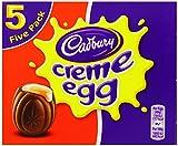 Cadbury Chocolate Creme Eggs (197 grammi, 5 pacchetti di 4 unità)