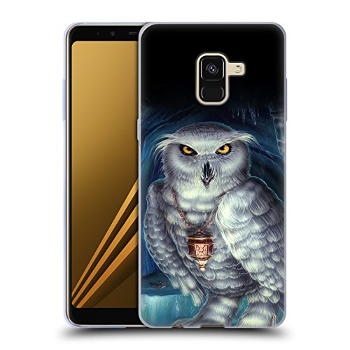 Head Case Designs Offizielle Ed Beard Jr Botschafter Euele von Dem Zauberer Fantasie Soft Gel Hülle für Samsung Galaxy A8 (2018)