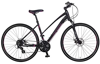 Claud Butler Explorer 200 Ladies, Hybrid Bike - 24 Speed (2016)