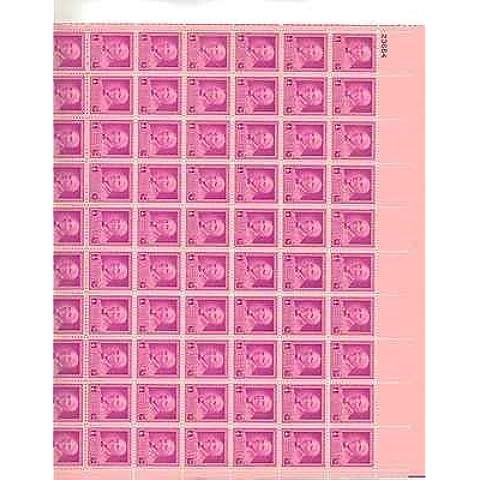 George Washington Carver Sheet of 50 x 3 Cent Stamps Scott 953 by (Francobolli Washington)