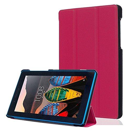 DETUOSI Lenovo TB3-730X 7 Pollici Custodia Cover, Folio Custodia per Lenovo Tab 3 7 Tablet(TB3-730F/TB3-730X/TB3-730M)