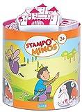 HCM Kinzel Aladine 85114 - Stampo Minos Märchen, 10 Stempel und 1 Stempelkissen
