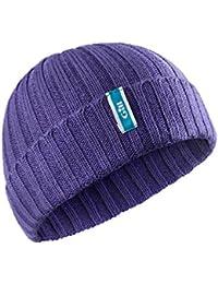 Gill Wide Rib Knit Beanie Hat
