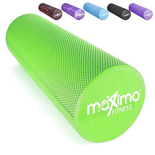 """Maximo Fitness Faszienrolle, Schaumstoffrolle - Leichtes Gewicht, 45cm x 15 cm (18\"""" x 6\"""")"""