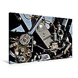 Premium Textil-Leinwand 75 x 50 cm Quer-Format Zündapp Z 300 | Wandbild, HD-Bild auf Keilrahmen, Fertigbild auf hochwertigem Vlies, Leinwanddruck von Ingo Laue (CALVENDO Mobilitaet)