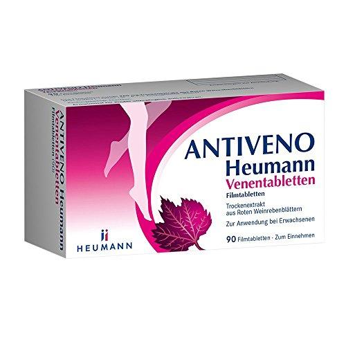 Antiveno Heumann Venentabletten, 90 St. Filmtabletten
