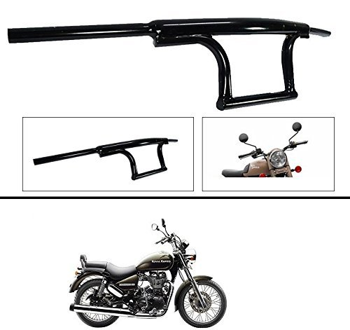 autosun bike handle bar dual triple curved pipe handlebar black for royal enfield classic 350/500 cc/ thunderbird 350 /500 cc Autosun Bike Handle Bar Dual Triple Curved Pipe Handlebar Black For Royal Enfield Classic 350/500 Cc/ Thunderbird 350 /500 Cc 514SjPApA3L