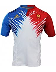 MAILLOT PERFORMANCE EQUIPE DE FRANCE 7 BLANC