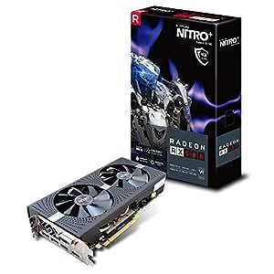 Sapphire Radeon RX 580 Nitro+ Scheda Grafica da 4 GB GDDR5, Grigio