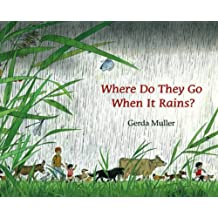 Where Do They Go When It Rains? by Gerda Muller (2010-01-01)