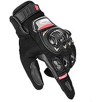 CARCHET Gants Moto Mi-Saison Été Homologué CE 1KP Respirable Anti-Choc avec Coque de Protection Rigide, Anti-Glissant Anti-Usure avec Bonne Flexibilité, Écran Tactile pour Smartphones GPS, Taille XL